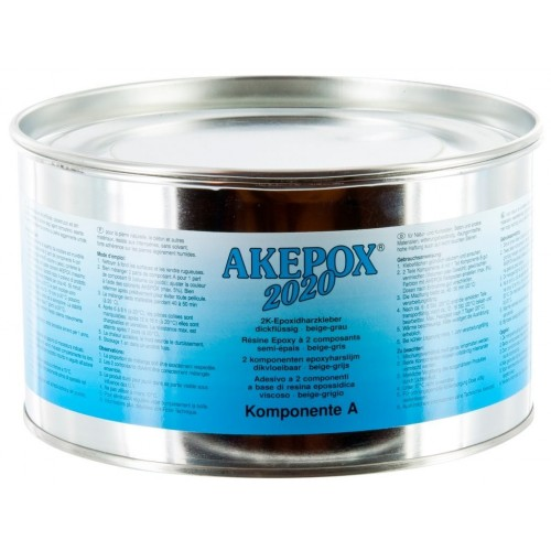 Colle AKEPOX 2020 en Beige-Gris Semi-Epaisse 3 Kg