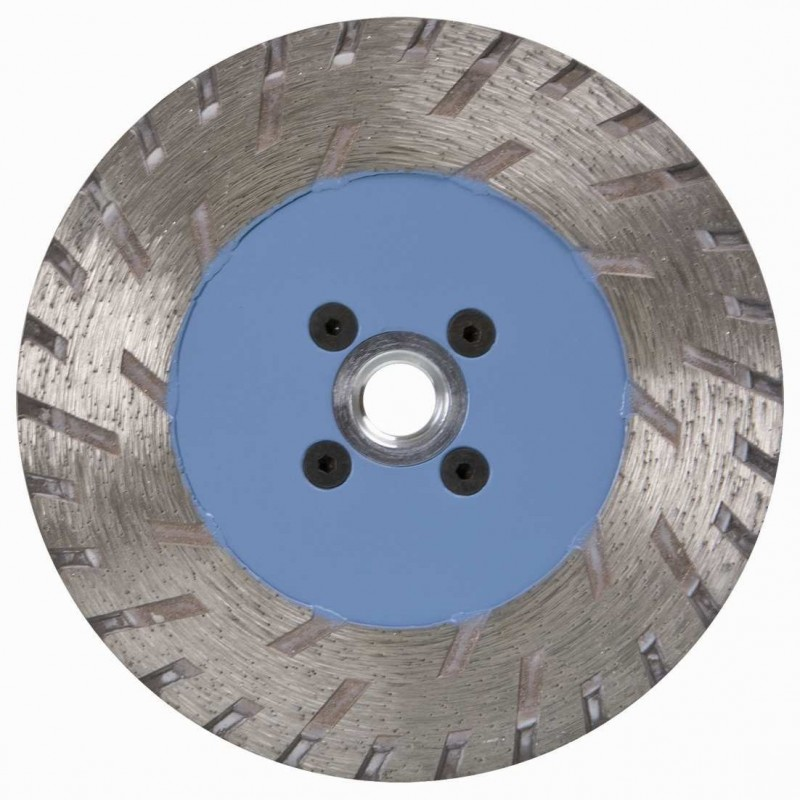 Disque Diamant Fritté Ø125 mm 1 Face M14 Turbo Granit