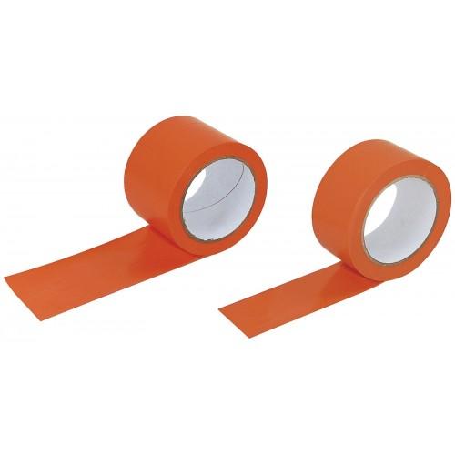 Rouleau Adhésif Orange Chantier 33m x 50mm