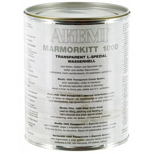 Mastic AKEMI Solide Transparent L-Spécial Cristal 1 Kg