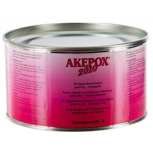 Colle AKEPOX 2010 en Transparent Miel Semi-Epaisse