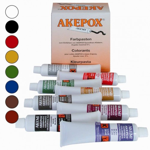 Tube de Colorant Concentré pour Colle Epoxy 30 ml
