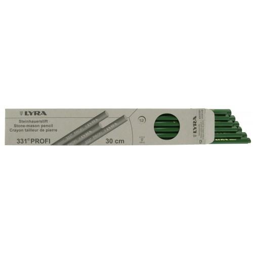 Boite de 12 Crayons Vert 331 Tailleur LYRA
