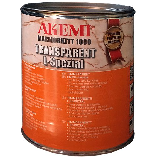 Mastic AKEMI Solide Transparent 1 Kg